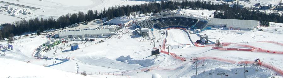 FIS Alpine Ski WM 2003 St. Moritz Airport